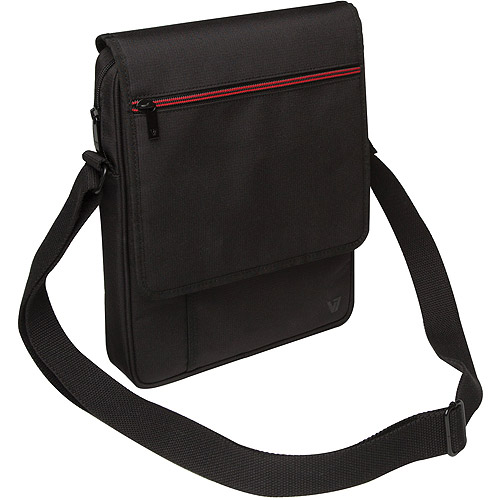 """V7 Vertical Messenger Bag for all iPads, iPad Air and up to 10"""" tablets"""