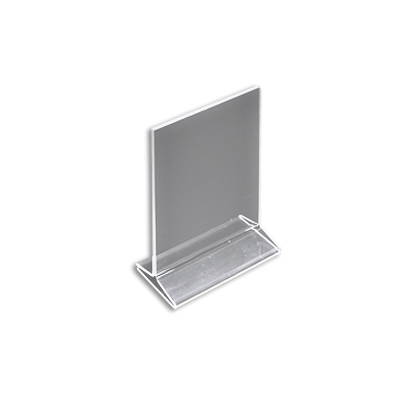 "Azar 142711 5.5"" W x 8.5"" H Top-Load Acrylic Sign Holder, 10Pack by Supplier Generic"