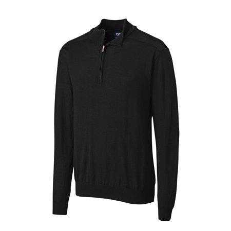 Cutter & Buck Men's Douglas Half Zip Mock Neck Sweater - MCS07725 ()