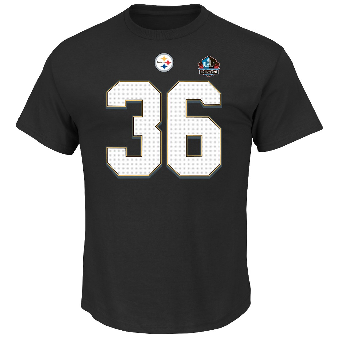 Jerome Bettis Pittsburgh Steelers Majestic NFL HOF Eligible Receiver III T-Shirt