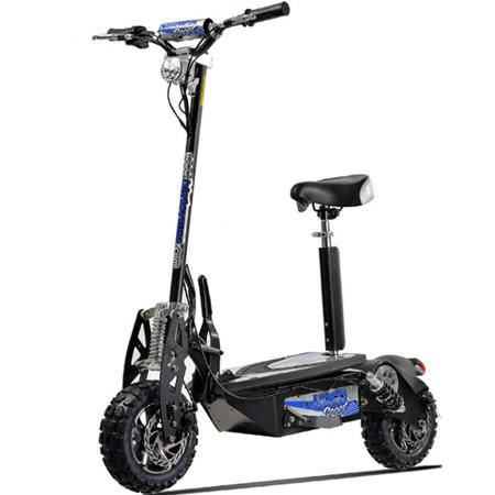 UberScoot 1600W 48V Stand Up Electric Scooter with Seat on
