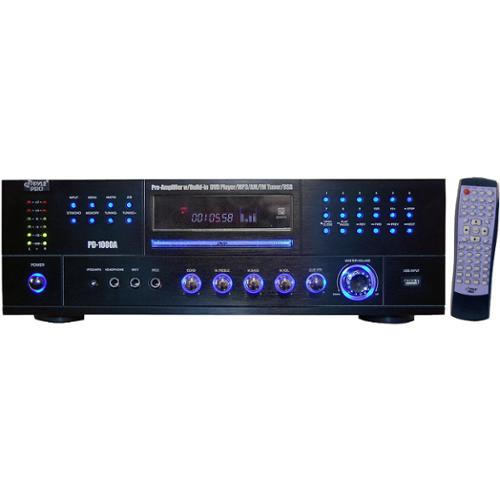 Pyle Pd1000A Home Theater Receiver Amplifier W/ Built In Tuner Cd/Dvd/Mp3 Player