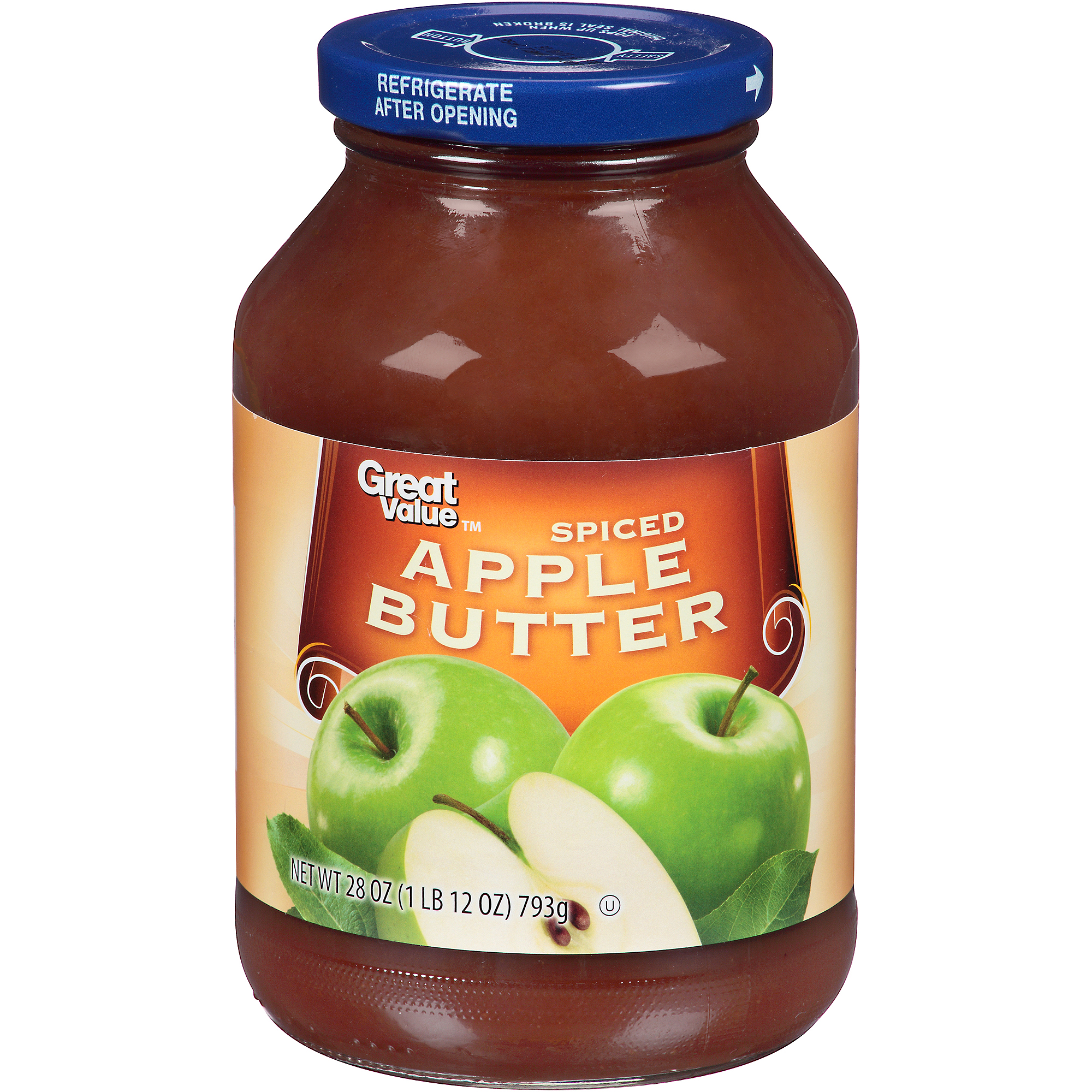 Great Value Spiced Apple Butter, 28 oz