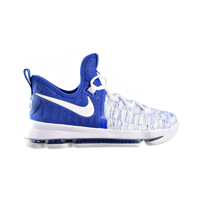 Nike Zoom KD 9 (GS) Big Kids Basketball Shoes Game Royal/...