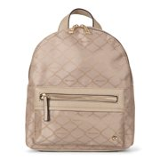 Mia & Luca Fashion Backpack in Signature Jacquard