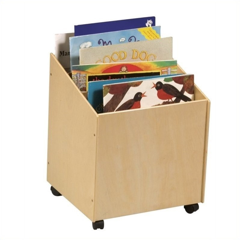 Rosebery Kids Big Book Storage Box with Casters
