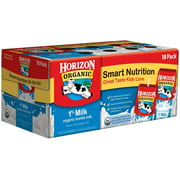 Horizon Organic 1% Low Fat Milk 8 Oz Cartons (18 count)