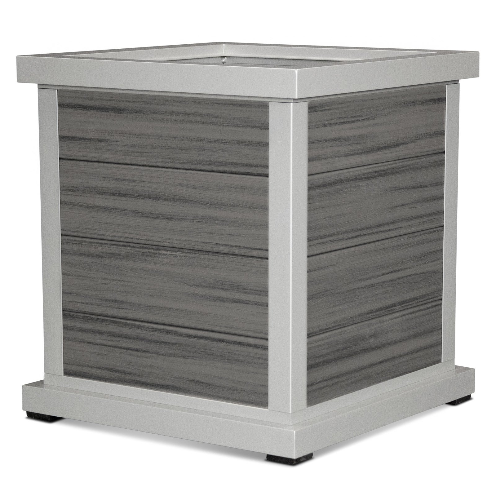 Trex Outdoor Furniture 24-in. 4-Board Cube Planter