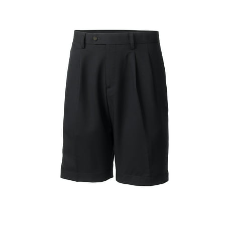 - Cutter & Buck Men's Twill Microfiber Pleated Short - MCB01826