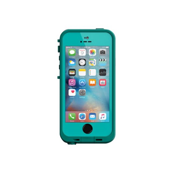 timeless design 1b486 78038 LifeProof Fre - Protective case for cell phone - teal, dark teal - for  Apple iPhone 5, 5s, SE