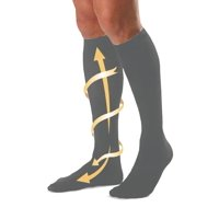 f92acb32a6 Product Image 6 Pairs Running Compression Socks Support Graduated Mens  Womens Black Gray S-XL