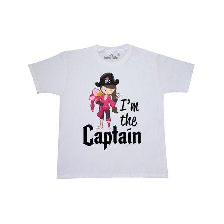 I'm the Captain- pirate girl Youth T-Shirt for $<!---->
