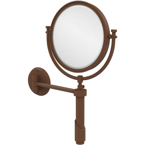 """Tribecca Collection Wall-Mounted Make-Up Mirror, 8"""" Diameter with 3x Magnification (Build to Order)"""