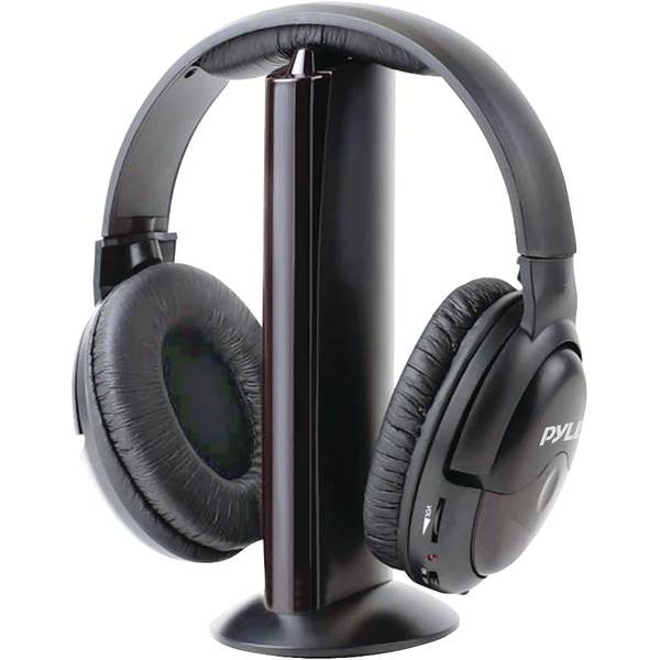 Professional 5-In-1 Wireless Headphone System with Microphone