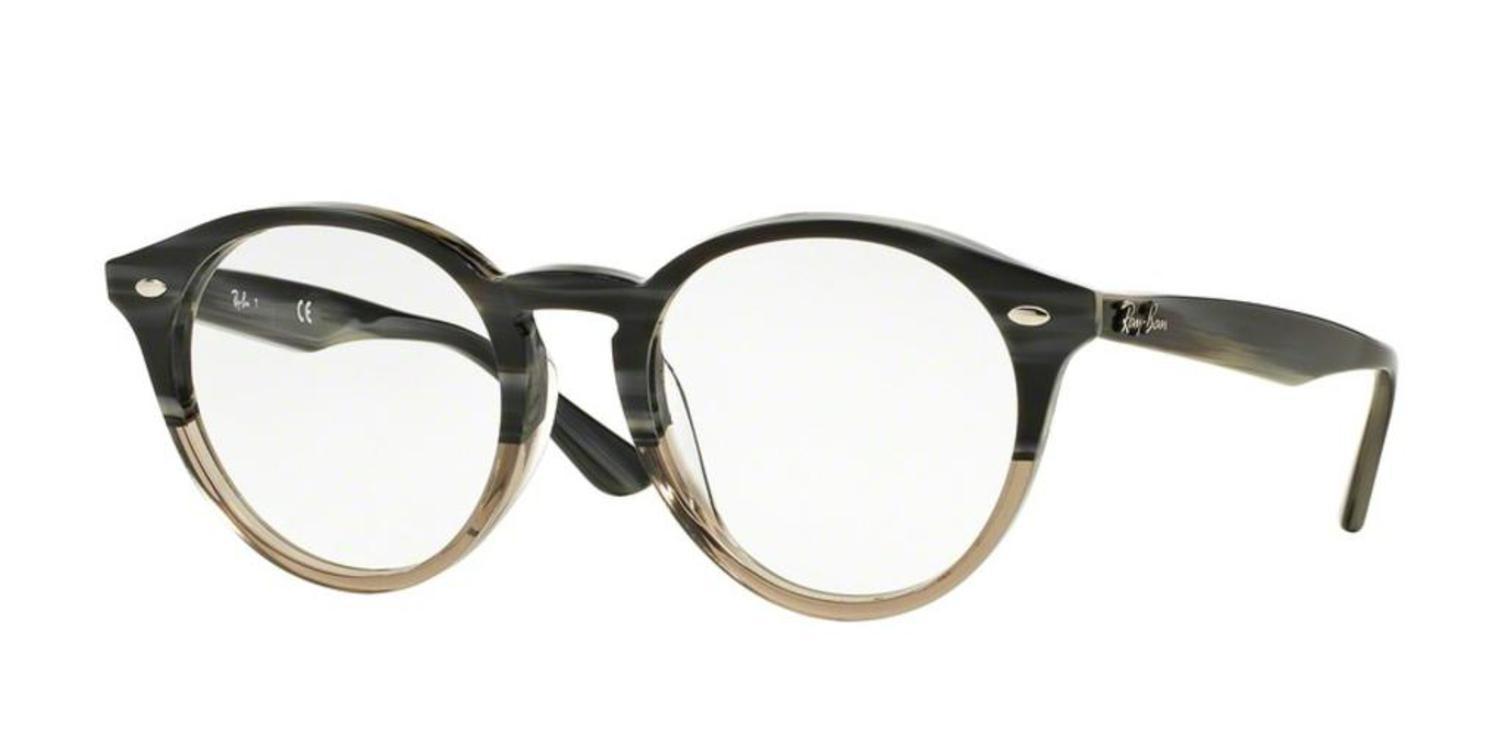 4dda3a387d1 Eyeglasses Ray-Ban Optical RX 2180 VF 5540 GREY HORN GRAD TRASP -  Walmart.com