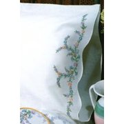 "Tobin Reflections Stamped Pillowcase Pair For Embroidery, 20"" x 30"""