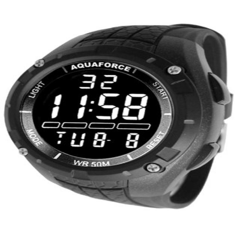 Image of Aqua Force Multi-Function Digital Quartz Watch, Black