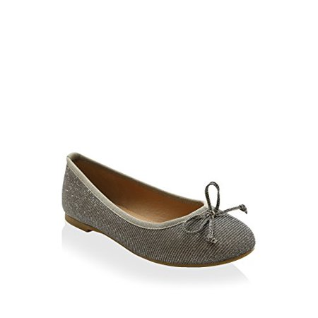 - Esprit Girl's Natalie Ballet Flat, Pewter, 13 M US Little Kid