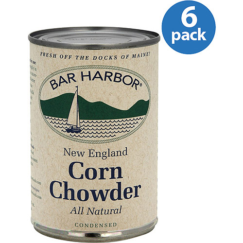 Bar Harbor New England Style Corn Chowder Soup, 15 oz, (Pack of 6)