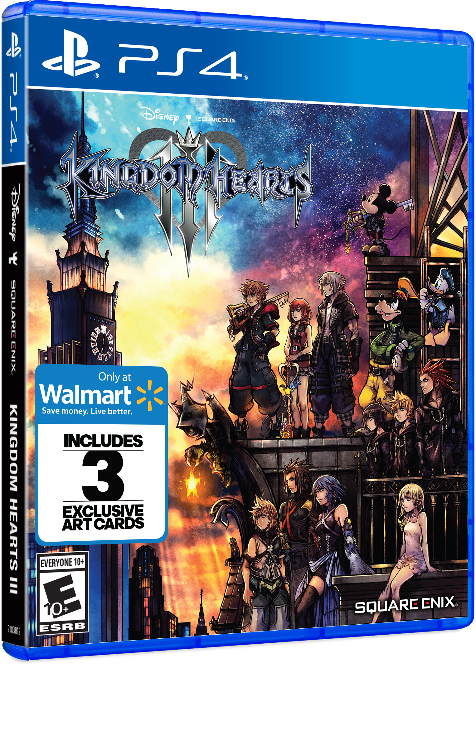 Walmart Exclusive: Kingdom Hearts 3, Square Enix, PlayStation 4, 662248921907