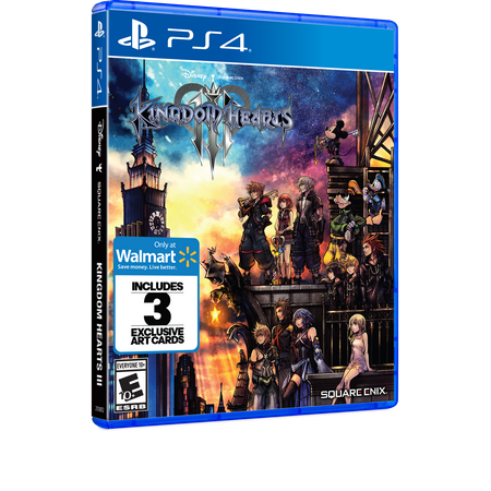 Walmart Exclusive: Kingdom Hearts 3, Square Enix, PlayStation 4, (Kingdom Hearts 2 Codes For Action Replay)