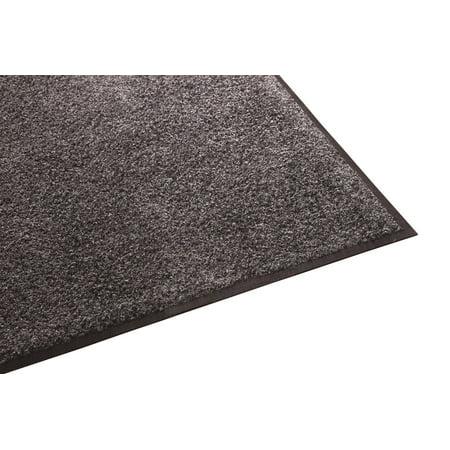 Guardian Platinum Series Indoor Wiper Floor Mat, Rubber with Nylon Carpet, 4
