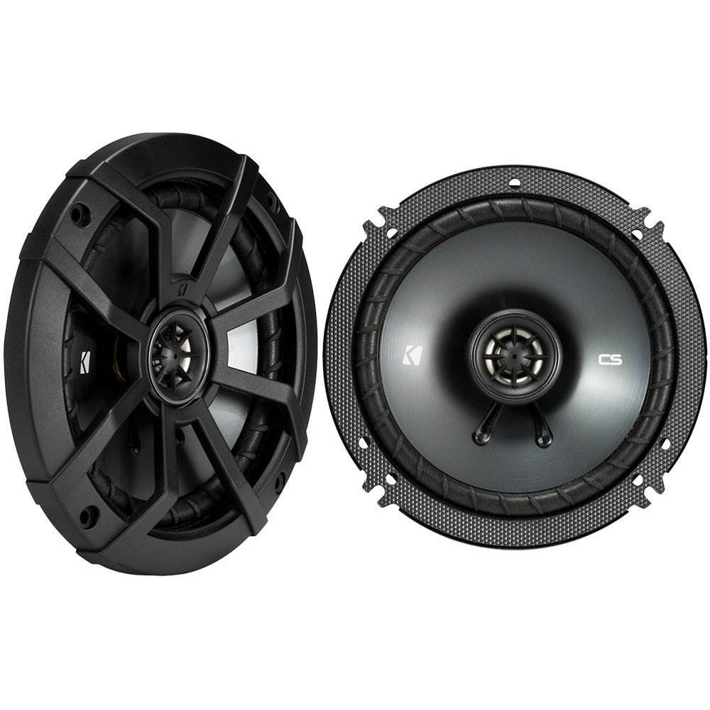 "Kicker CSC65 Car Audio Full Range 6 1//2/"" Coaxial 600W Speakers Pair 43CSC654"