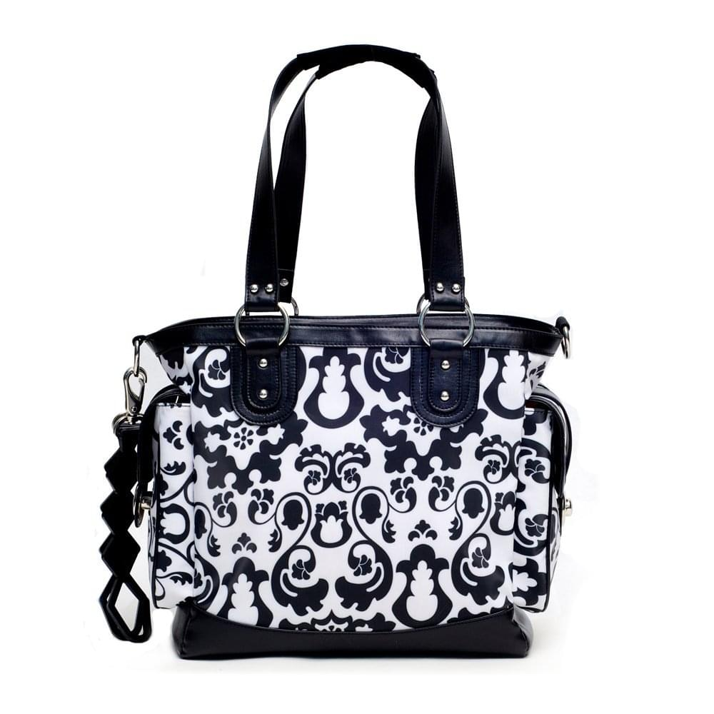 JJ Cole Norah Diaper Bag Midnight Laurel