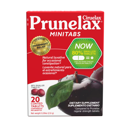 (3 pack) Prunelax Ciruelax Natural Laxative Dietary Supplement Tablets, 20 Ct