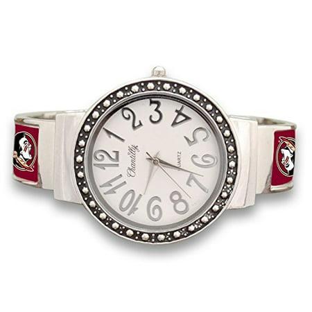 Florida State Watch (Florida State Seminoles Cuff Watch with Silver Tone)