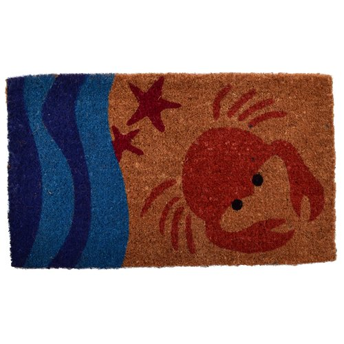 Imports Decor Creel Crab Doormat