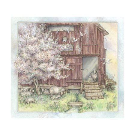 Welcome Another Spring Print Wall Art By Kim Jacobs