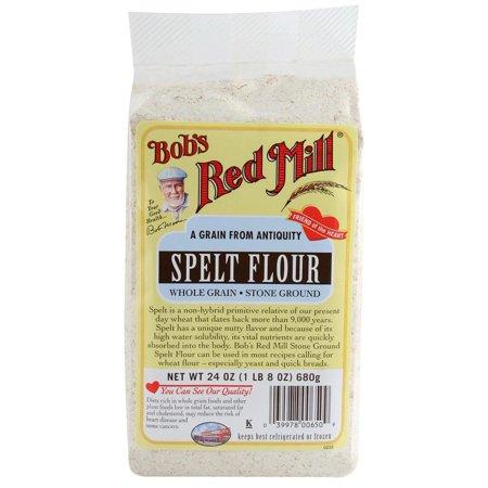 Spelt Whole Grain (Bob's Red Mill, Spelt Flour, Whole Grain, Stone Ground, 24 oz (pack of 4) )