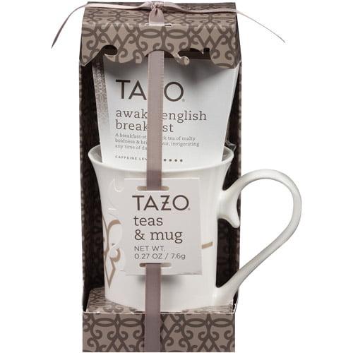 Tazo Tea Mug and Awake Tea or Passion Tea( Mug Design & Tea Flavor ...