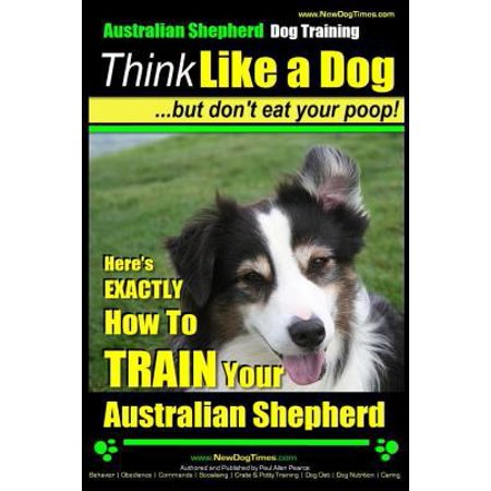 Australian Shepherd Dog Training   Think Like A Dog  But Dont Eat Your Poop   Heres Exactly How To Train Your Australian Shepherd