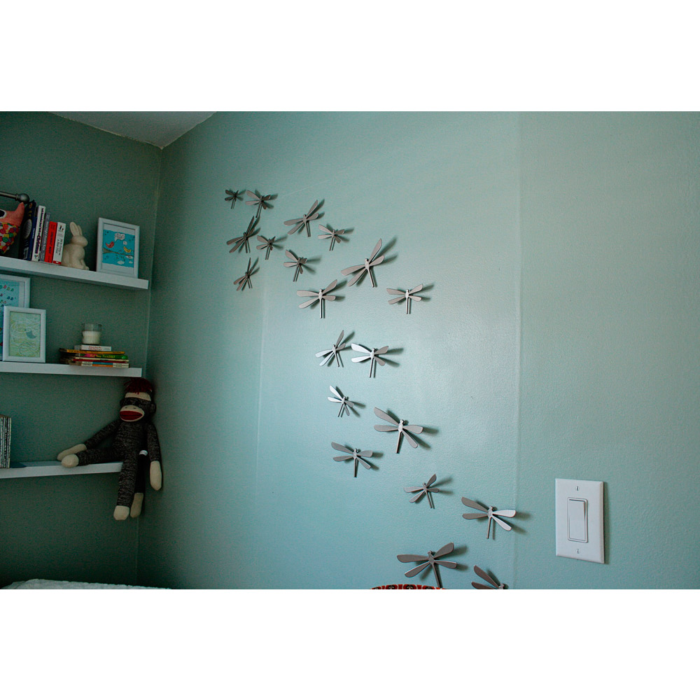 Umbra wallflutter wall decor dragonfly
