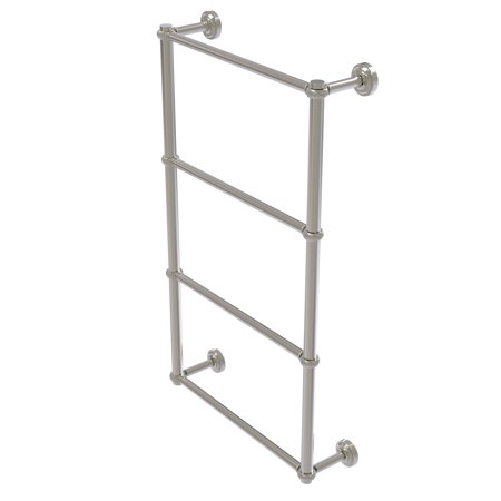 Dottingham Collection 4 Tier 30 Inch Ladder Towel Bar with Twisted Detail