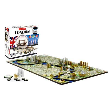 4D Cityscape London History Time Puzzle, 1,230+ Pieces](4d Puzzle)