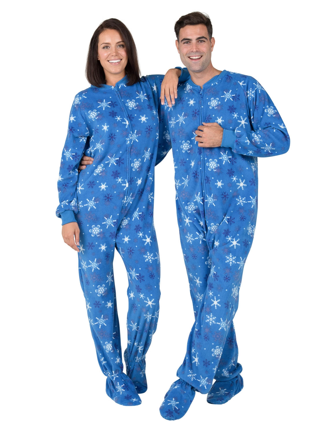 Footed Pajamas - Footed Pajamas - Its A Snow Day Adult ...