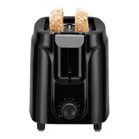 Mainstays 2 Slice Black Toaster