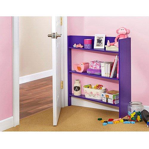 Heidi Junior Behind The Door Shelving System, Multiple Colors