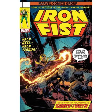 73 Cover - Marvel : Iron Fist #73 [Lenticular Cover]