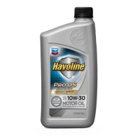 Chevron Havoline ProDS Synthetic Motor Oil 10W30, 1 QT