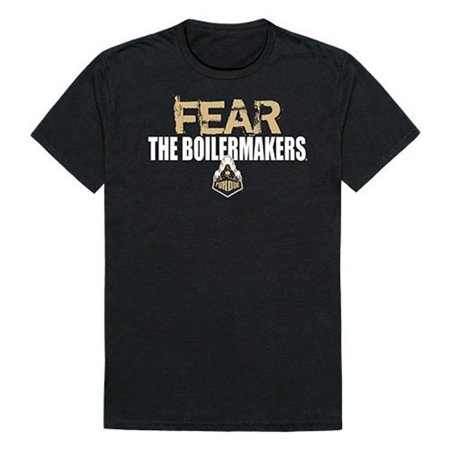 W Republic Apparel 518-183-E27-02 Purdue University Fear Mens Tee Shirt - Black, Medium - image 1 of 1