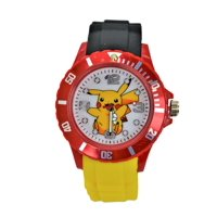 Pokemon Pikachu Unisex Quartz Analog Wrist Gift Watch .Fashion Large Modern Display.