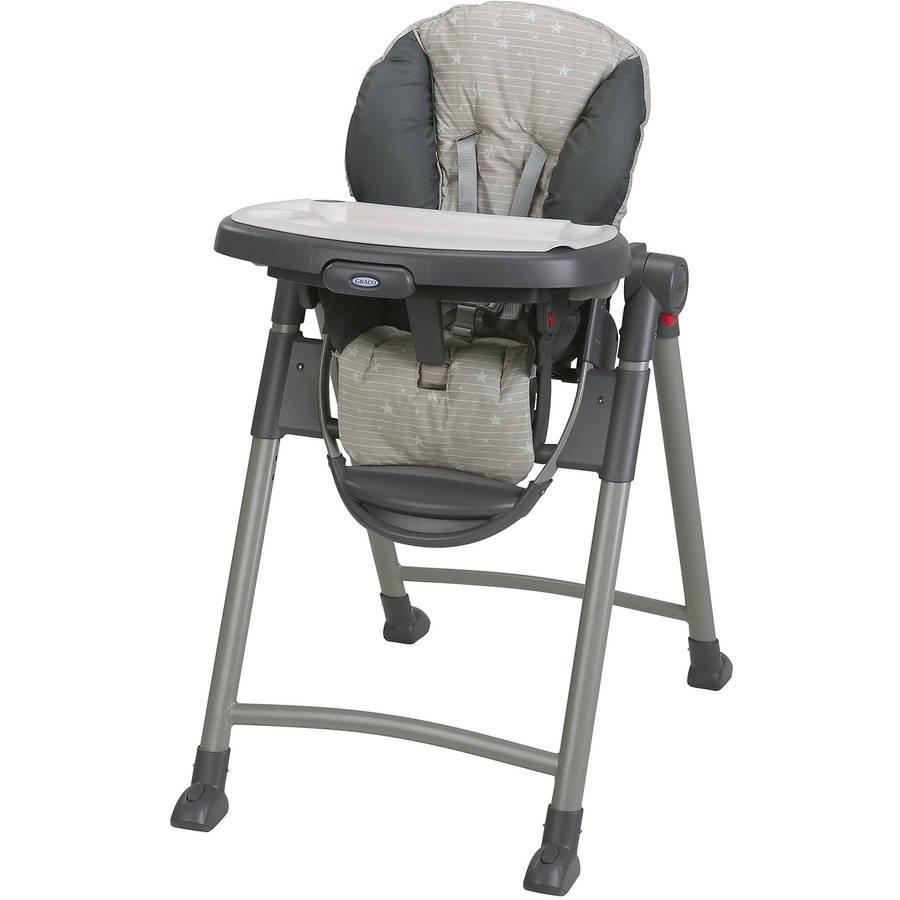 Graco Contempo Slim Folding Highchair, Stars