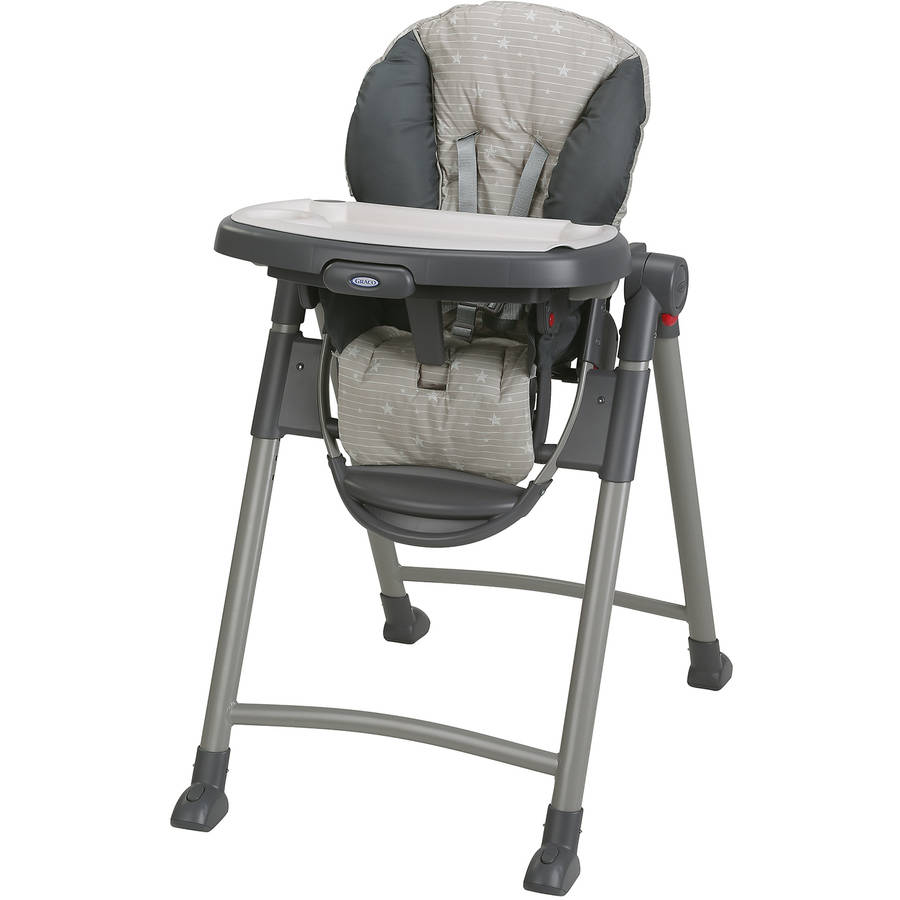 Graco Contempo Slim Folding Highchair, Stars