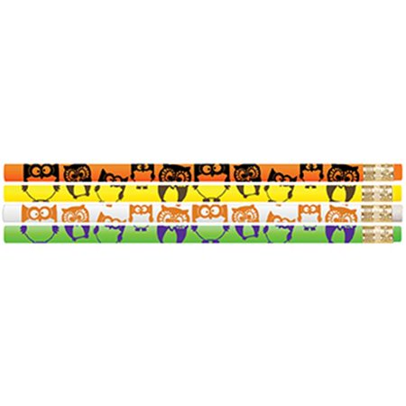 MUSGRAVE PENCIL CO INC MUS2520D OWL MOTIVATIONAL PENCILS 12PK (Own Pencil)