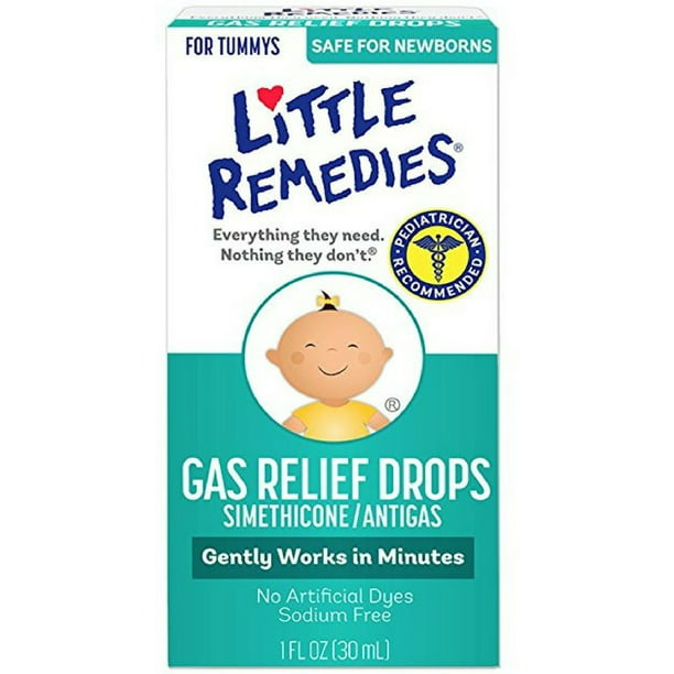 Gas Relief Little Remedies® 40 mg / 0.6 mL Strength Drop 1 oz.