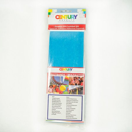500 Blue Tyvek Security Wristbands Walmart Com